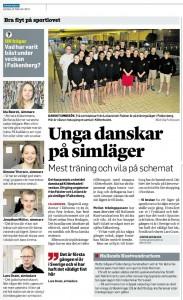 Reportage i Hallands Nyheter